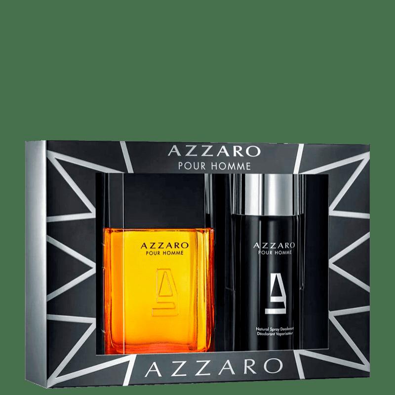 Kit Azzaro Pour Homme Eau de Toilette Masculino 100ml + Desodorante 150ml