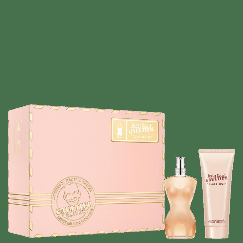 Kit Classique Jean Paul Gaultier Eau de Toilette Feminino 50ml + BL 75ml