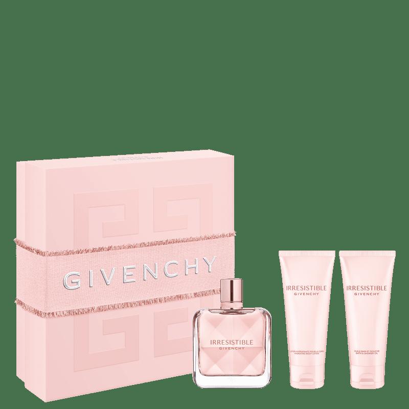 Kit Givenchy Irrésistible Eau de Parfum Feminino 80ml + BL 75ml + SG 75ml
