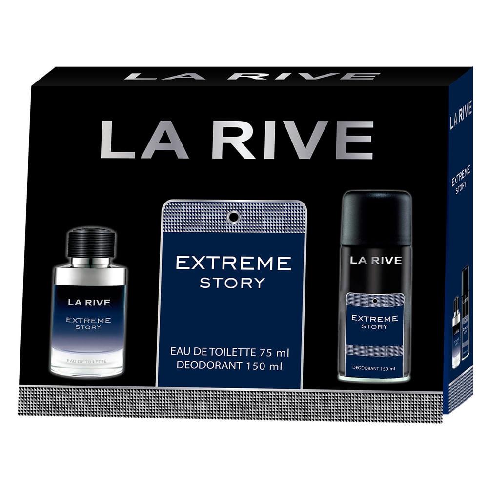Kit La Rive Extreme Eau de Toilette 75ml + Deo 150ml