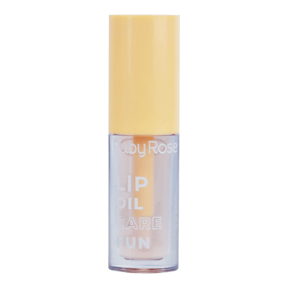 Lip Oil Care Fun Ruby Rose Sorvete de Baunilha 3ml