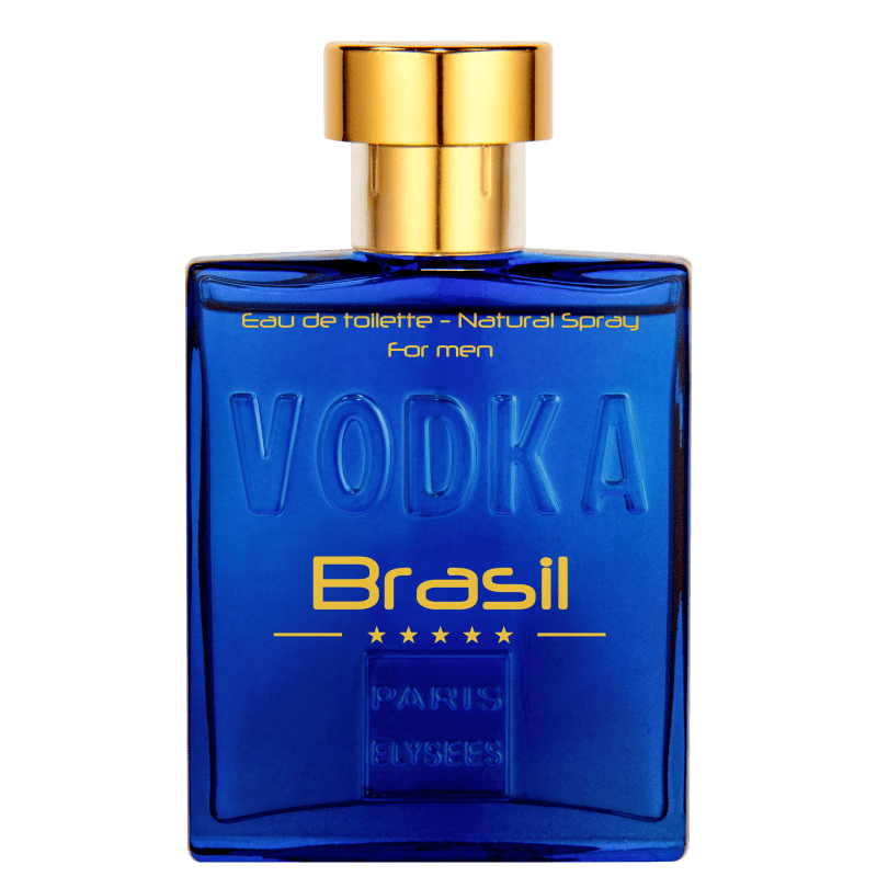 Paris Elysees Vodka Brasil Blue Eau de Toilette Masculino