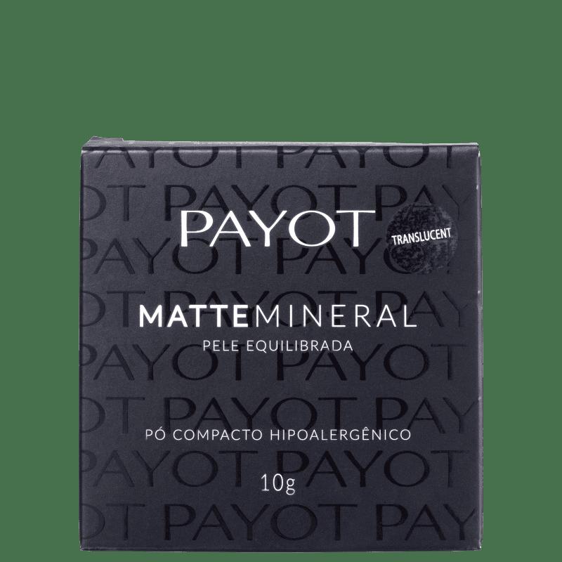 Pó Compacto Payot Matte Mineral 10g
