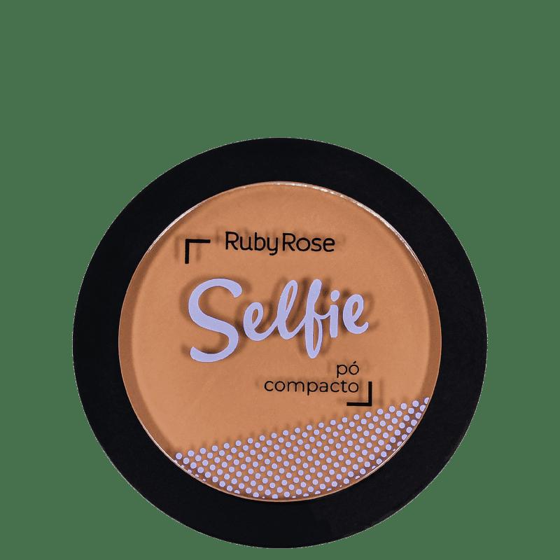 Pó Compacto Ruby Rose Selfie 10,5g
