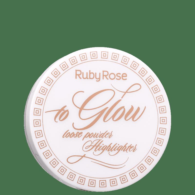 Pó Iluminador Ruby Rose To Glow 8,5g