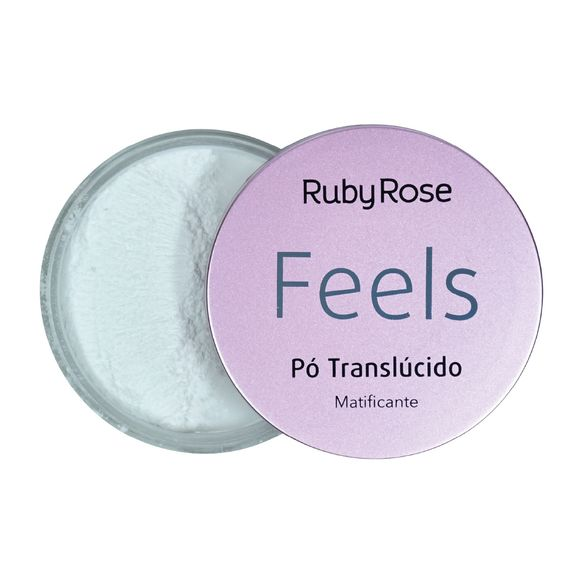 Pó Translúcido Feels Ruby Rose 7,5g
