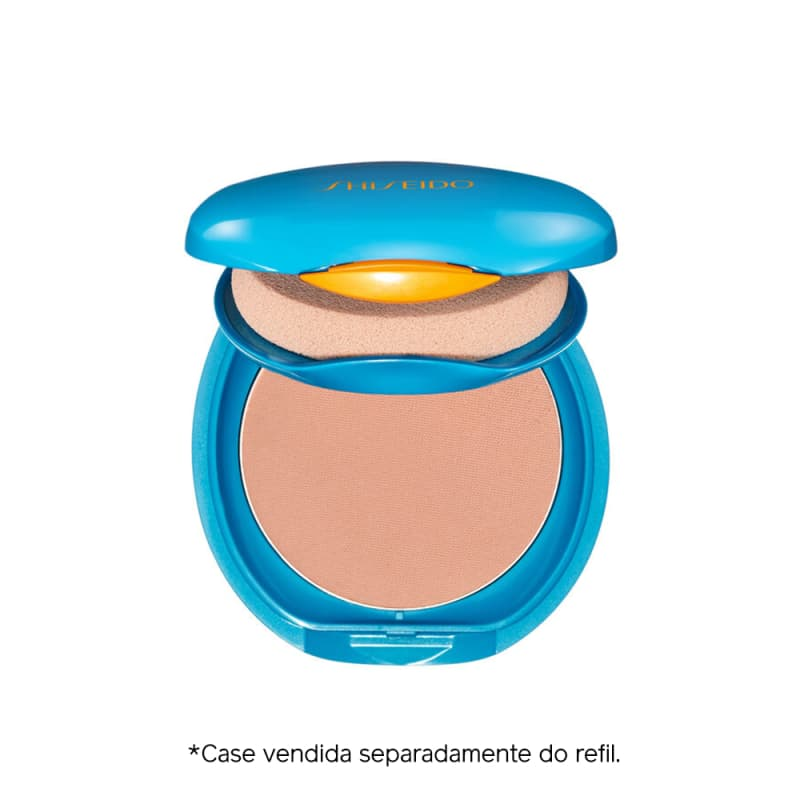 Protetor Solar Facial Compacto Shiseido UV Protective Compact Foundation FPS 35 Refil 12g
