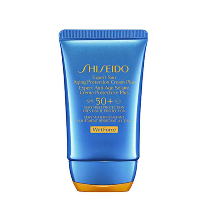 Protetor Solar Facial Shiseido Expert Sun Aging Protection Cream SPF50+ 50ml