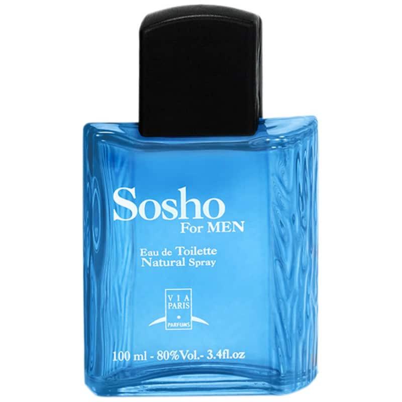 Sosho For Men Via Paris Eau de Toilette Masculino 100ml