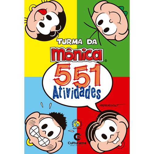 551 ATIVIDADES TURMA DA MÔNICA