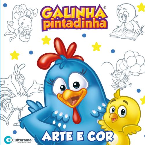 ARTE E COR GALINHA PINTADINHA