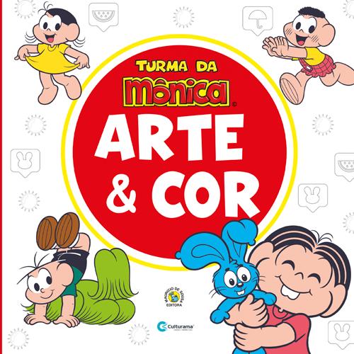 ARTE E COR TURMA DA MÔNICA
