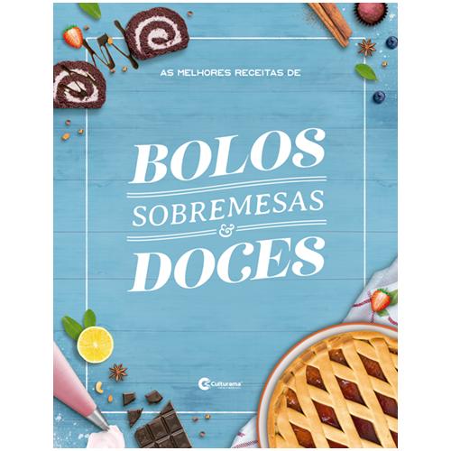 AS MELHORES RECEITAS DE BOLOS SOBREMESAS E DOCES
