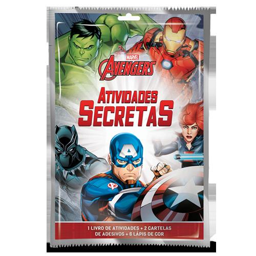 ATIVIDADES SECRETAS VINGADORES