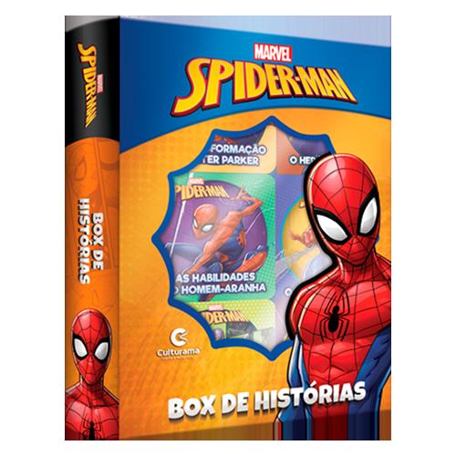 BOX DE HISTÓRIAS HOMEM-ARANHA