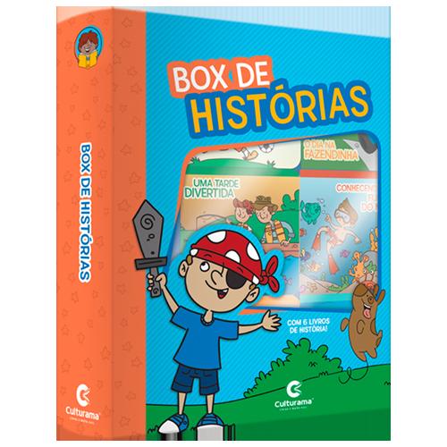 BOX DE HISTÓRIAS MENINOS