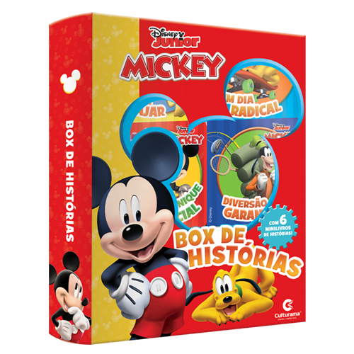 BOX DE HISTÓRIAS MICKEY