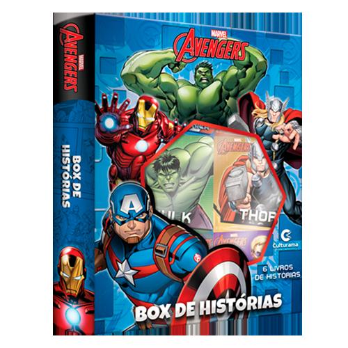 BOX DE HISTÓRIAS VINGADORES