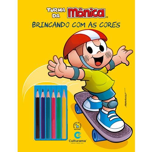 BRINCANDO COM AS CORES - CASCÃO ESPORTES COM LÁPIS