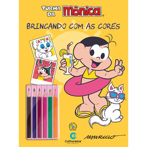 BRINCANDO COM AS CORES - MAGALI FÉRIAS COM LÁPIS