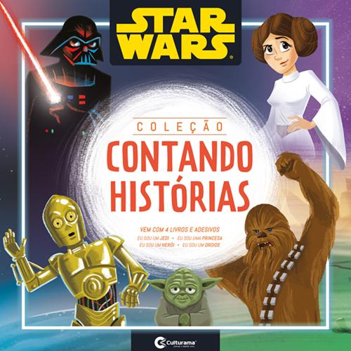 CAIXA CONTANDO HISTÓRIAS STAR WARS