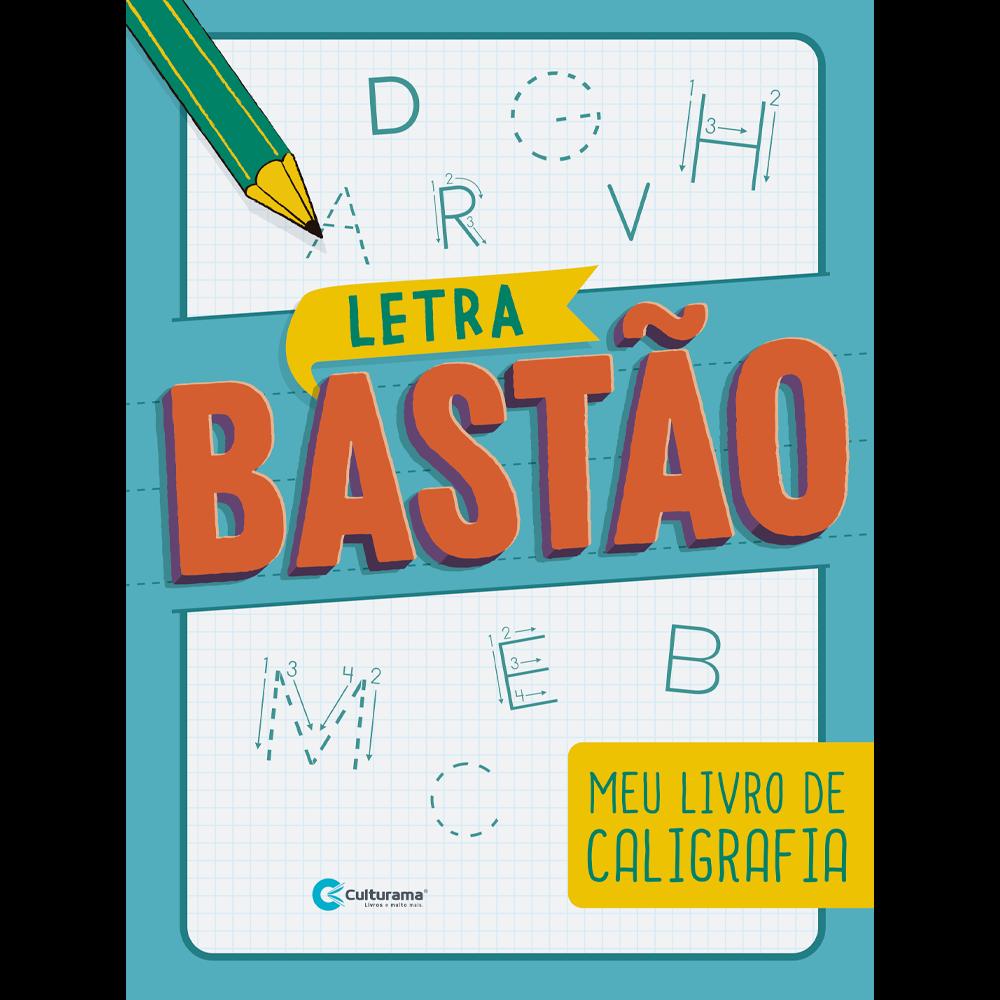 CALIGRAFIA DIVERTIDA - LETRA BASTÃO