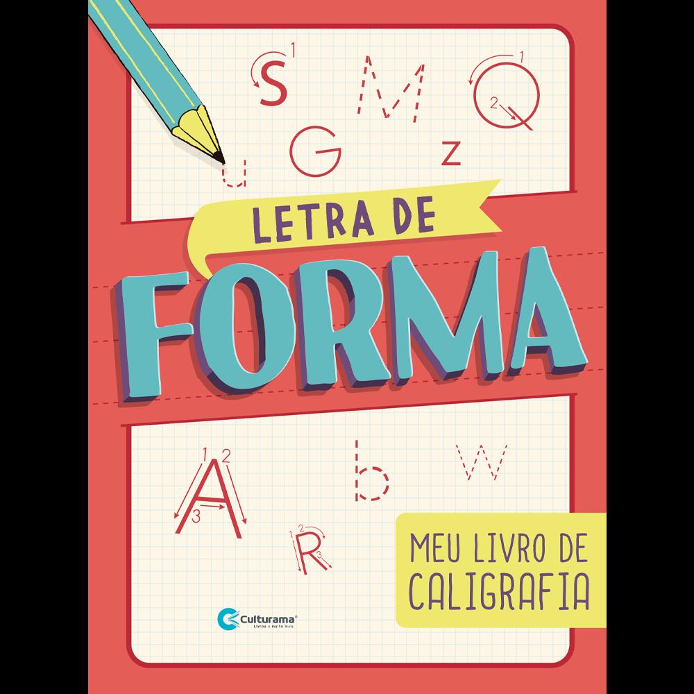 CALIGRAFIA DIVERTIDA-LETRA DE FORMA