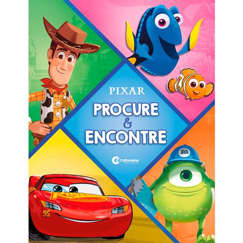 CAPA DURA - PROCURE E ENCONTRE - DISNEY PIXAR