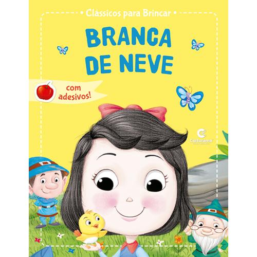 CLÁSSICOS PARA BRINCAR COM ADESIVOS-BRANCA DE NEVE