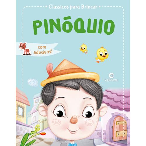 CLÁSSICOS PARA BRINCAR COM ADESIVOS-PINÓQUIO