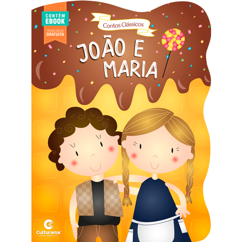CONTOS CLÁSSICOS RECORTADOS -JOÃO E MARIA