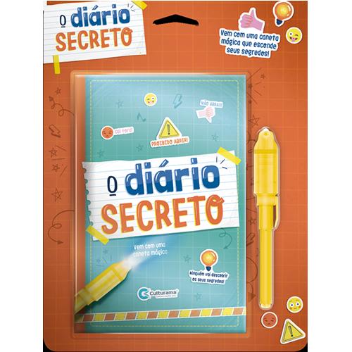 DIÁRIO SECRETO COM CANETA MÁGICA - VERDE
