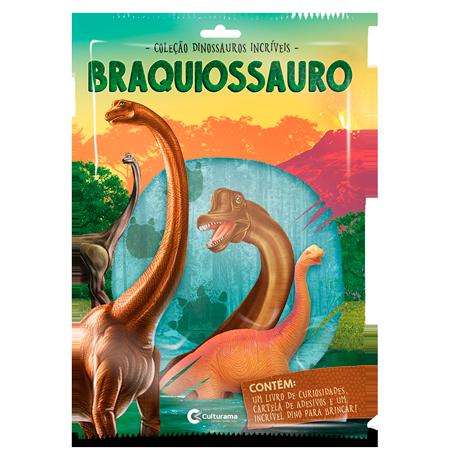 DINOSSAUROS INCRÍVEIS - BRANQUIOSSAURO