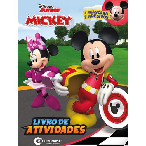 DIVERSÃO COM ADESIVOS MICKEY