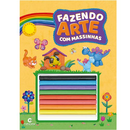 FAZENDO ARTE COM MASSINHAS- AMARELO