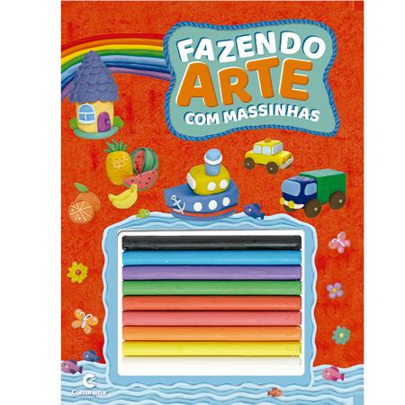 FAZENDO ARTE COM MASSINHAS- VERMELHO