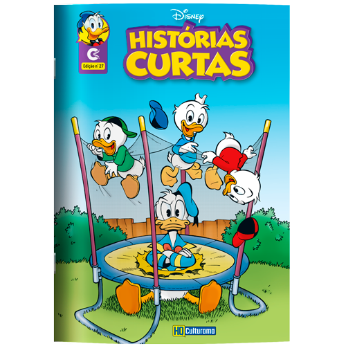 HQ DISNEY HISTÓRIAS CURTAS ED. 27
