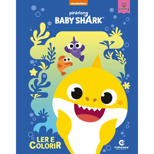 LER E COLORIR BABY SHARK