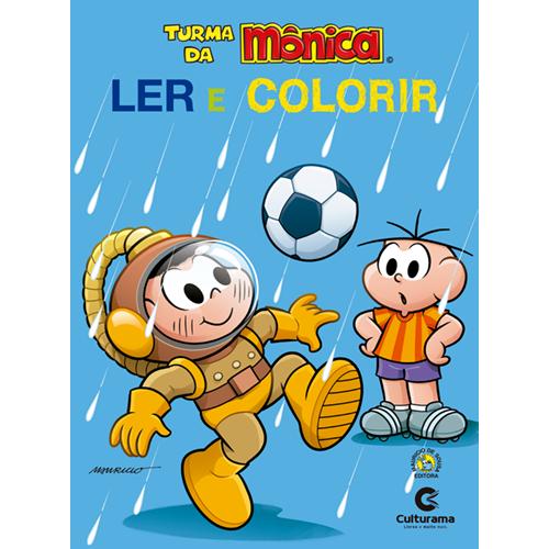LER E COLORIR CASCAO