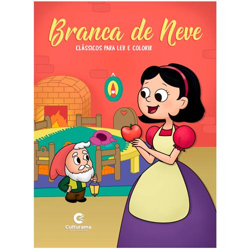LER E COLORIR CLÁSSICOS-BRANCA DE NEVE