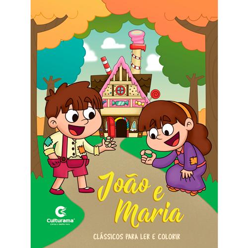LER E COLORIR CLÁSSICOS-JOÃO E MARIA