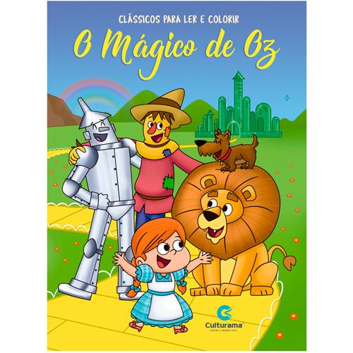 LER E COLORIR CLÁSSICOS-O MÁGICO DE OZ