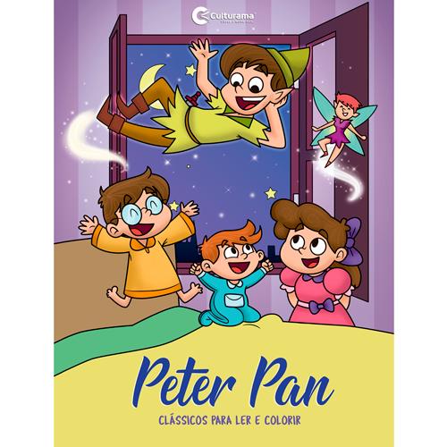 LER E COLORIR CLÁSSICOS-PETER PAN