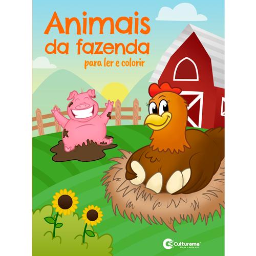LER E COLORIR CULTURAMA - ANIMAIS DA FAZENDA