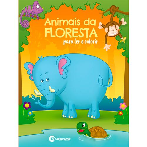 LER E COLORIR CULTURAMA - ANIMAIS DA FLORESTA