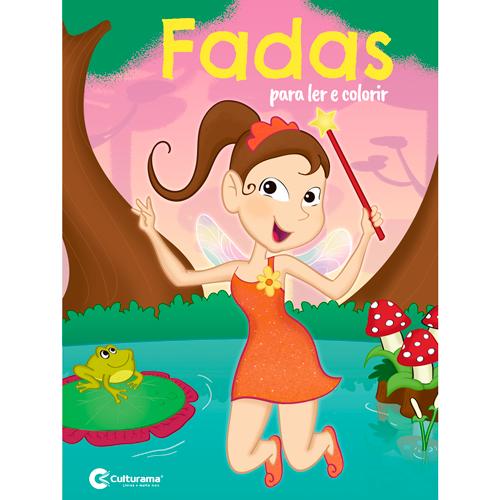 LER E COLORIR CULTURAMA - FADAS