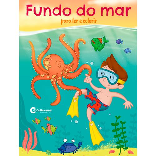LER E COLORIR CULTURAMA - FUNDO DO MAR