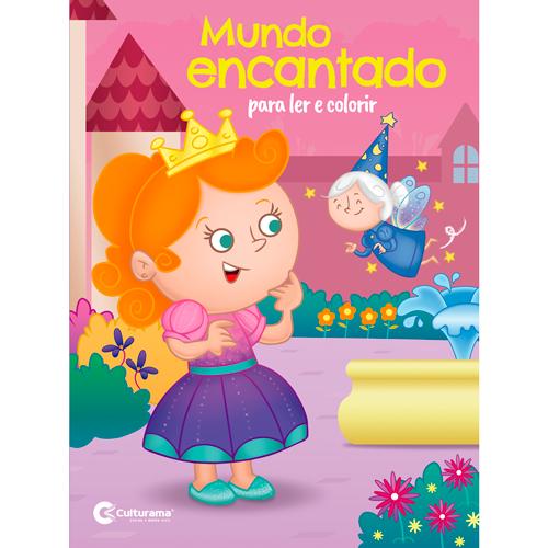 LER E COLORIR CULTURAMA - MUNDO ENCANTADO
