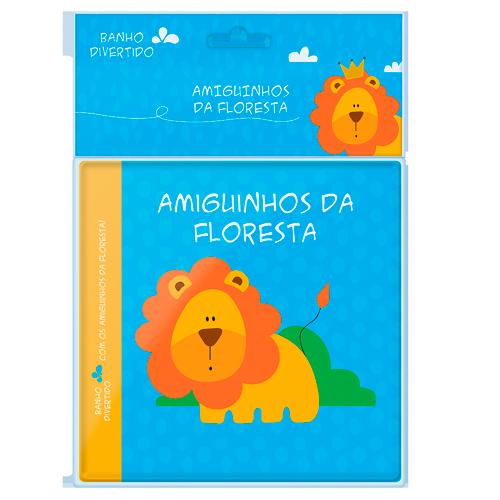 LIVRO DE BANHO AMIGUINHOS DA FLORESTA