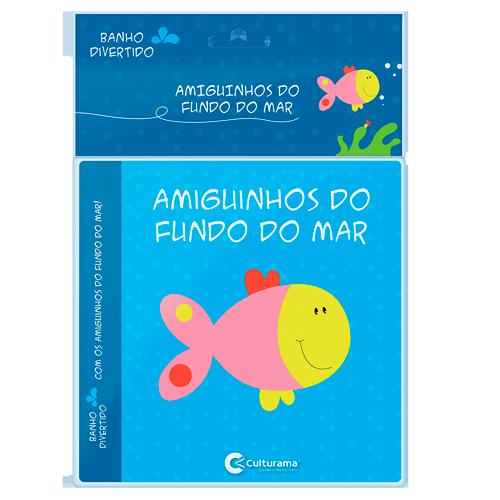 LIVRO DE BANHO AMIGUINHOS DO FUNDO DO MAR